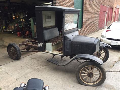 1925 Ford Model Tt Project Truck With Ruskstell Axle, Dump