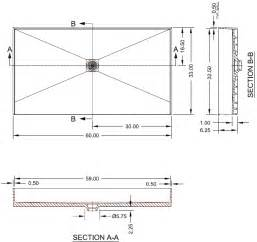 Bathtub Width Standard by Standard Bathtub Drain Dimensions Bathroom