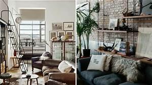 Inspiration Dco 2 Se Crer Un Salon Loft Industriel