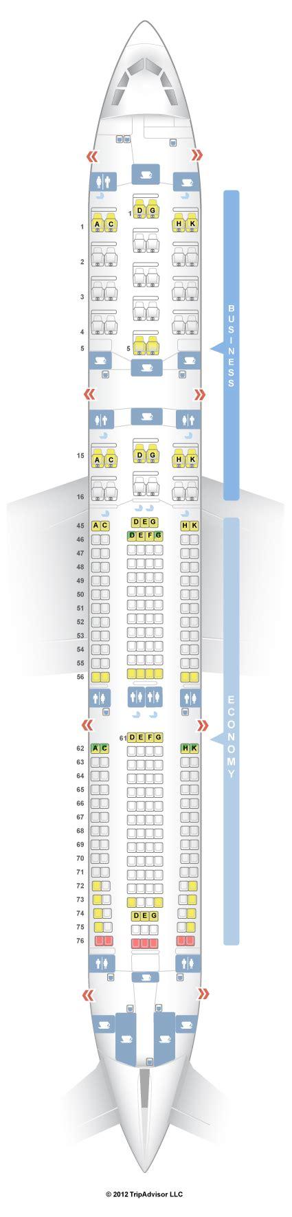 SeatGuru Seat Map South African Airways