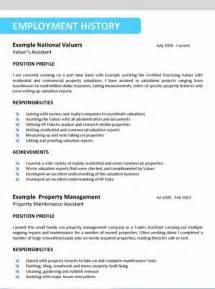 an effective resume format sle resume format march 2016