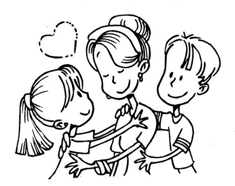 mother day coloring pages  mom  grandma yahoo voices