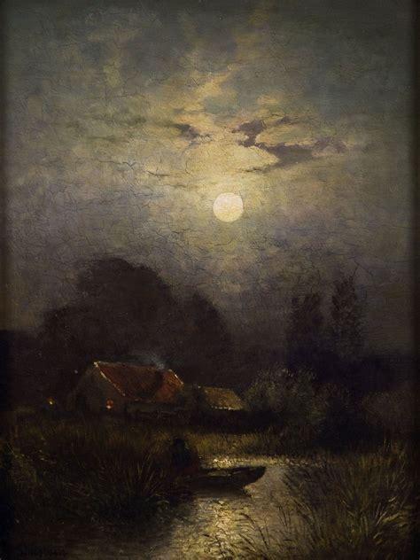 sophus jacobsen in the moonlight moonlight