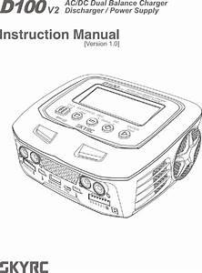 Skyrc Technology D100v2 Ac  Dc Dual Balance Charger