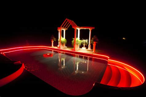 outdoor led light strips with multi color leds