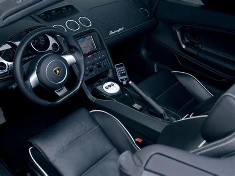 cars world lamborghini gallardo spyder interior