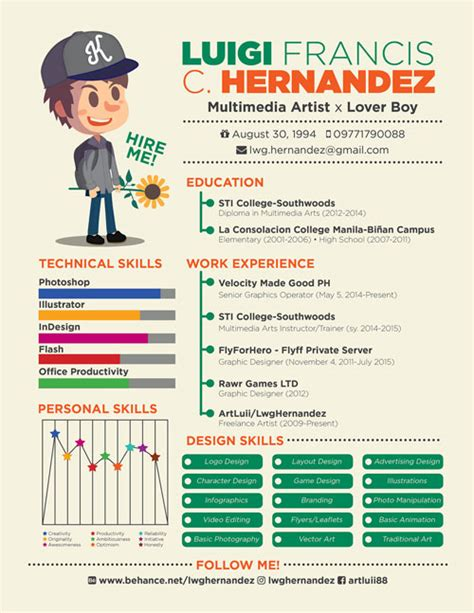 Cool Interactive Resume by 20 Newest Creative Resume Designs For Inspiration 2017