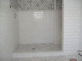 installing tile backsplash in kitchen marble tile shower floor with ceramic subway tile on the