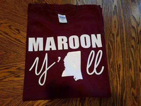 maroon yall school spirit shirt  youth pta spirit