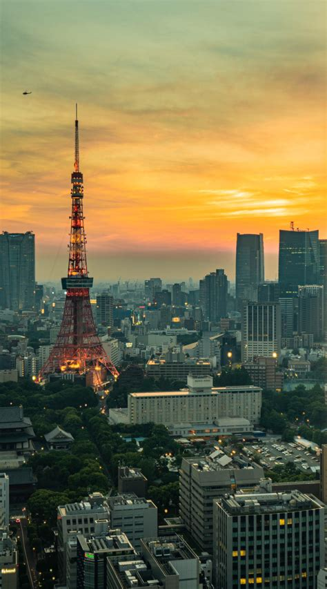Hazy Tokyo Sunset : CityPorn