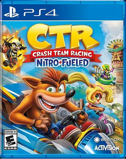Crash Racing Team Fueled Nitro Gamestop