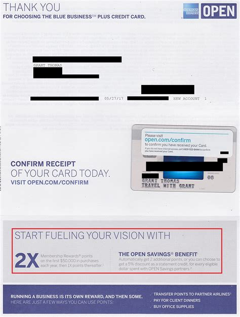 unboxing   american express blue business  credit