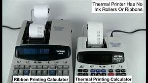Victor Technology Thermal Printing Calculators