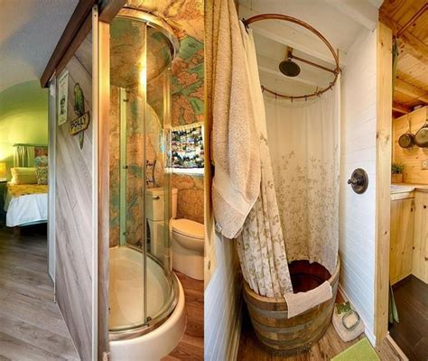 fabulous diy rv shower remodel decor for amazing camper ideas