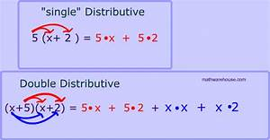 Example Of A Term Paper Double Distributive Property Visual Examples Practice