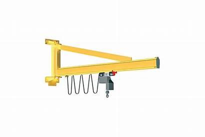 Jib Crane Mounted Wall Series Wm Mit