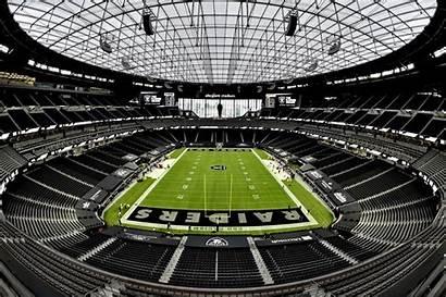 Raiders Saints Vegas Las Stadium Football Nola