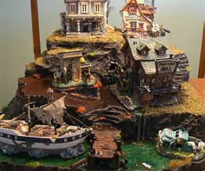 Lemax Halloween Village Houses by Custom Halloween Village Display Platform For Tracy