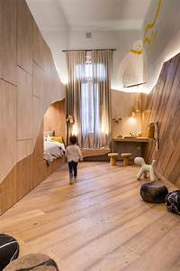 This, Fun, And, Unique, Kids, Room, Draws, Design, Inspiration, From, A, Bear, Cave
