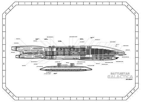image result  battlestar galactica ship layout