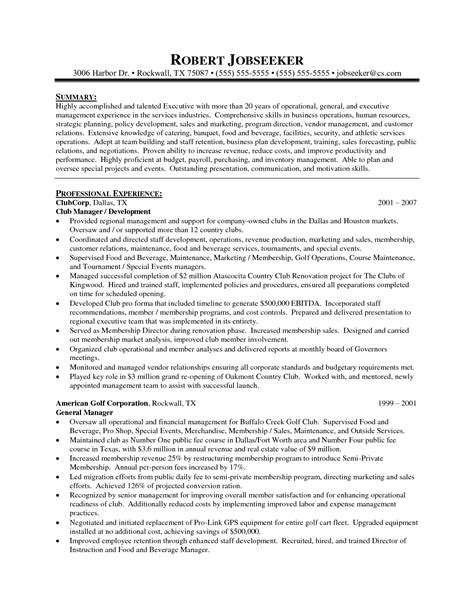 District Manager Resume Cover Letter by District Manager Resume Sle Sle Retail Resumes