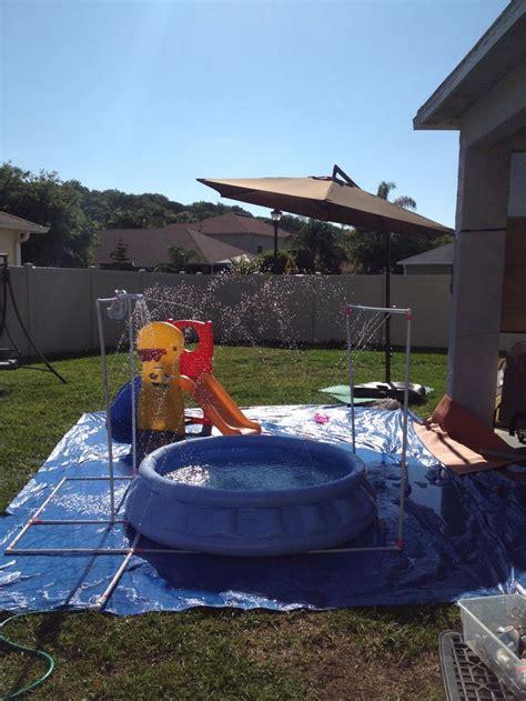 Water Park In Backyard by 25 Best Backyard Water Parks Ideas On