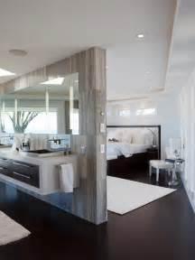 open bathroom concept for master bedroom
