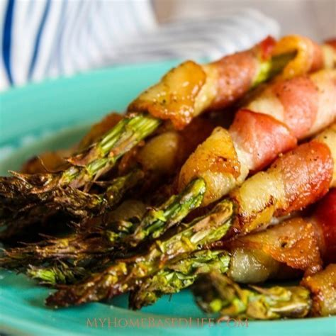 fryer air bacon asparagus wrapped recipe recipes myhomebasedlife instant pot appliance