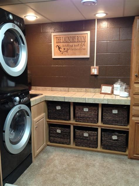 washer dryer cabinets laundry room makeover ideas for your mobile home ikea decora