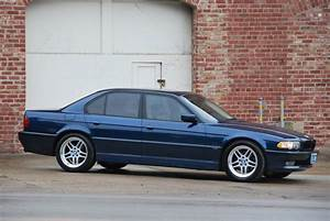 E38 2001 740i Sport Biarritz Blue With Oyster Interior