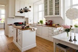 Wohnideen Im Landhausstil : wei e k che im landhausstil einrichten ~ Sanjose-hotels-ca.com Haus und Dekorationen