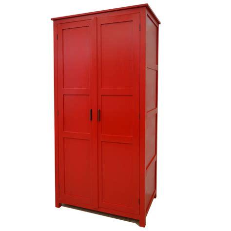 mobili etnici colorati armadio etnico rosso armadi in legno colorati