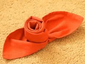 comment r 233 aliser un pliage de serviette id 233 es originales