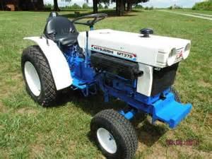 Mitsubishi MT372 Diesel Tractor