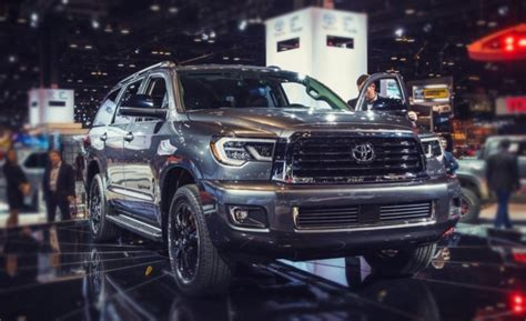toyota sequoia redesign release date price