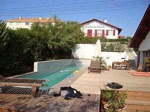 Piscine Couloir De Nage : construction d une piscine couloir de nage bidart au ~ Premium-room.com Idées de Décoration