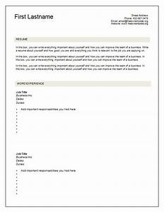 Blank resume template health symptoms and curecom for Blank resume template