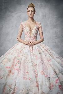22 gorgeous floral wedding dresses blooming with new With floral wedding dresses