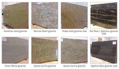 image gallery granite names