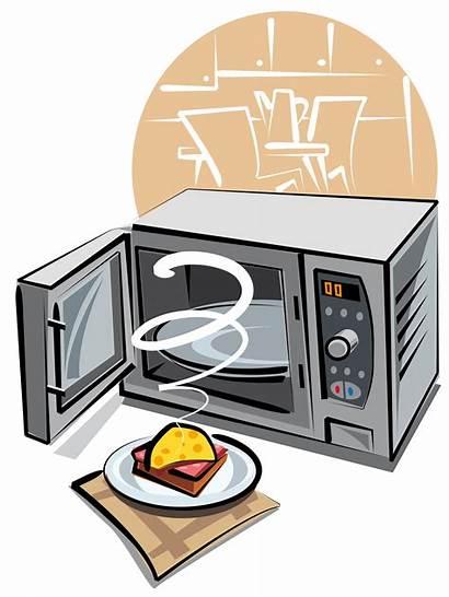 Microwave Cartoon Microwaves Bond Laura Ping Affair