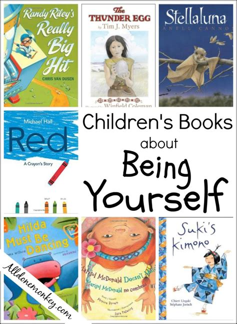 Children's Books About Being Yourself  All Done Monkey