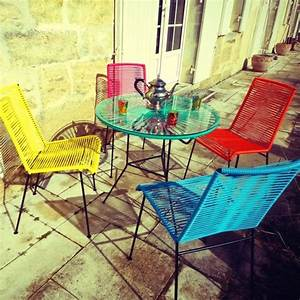 Mobilier De Jardin Ikea : le mobilier de jardin annonce la couleur journal des femmes ~ Teatrodelosmanantiales.com Idées de Décoration