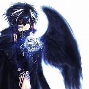 Anime dark angel wings |See To World