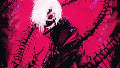 Ghoul Tokyo Kaneki Anime Ken Effects Illustration