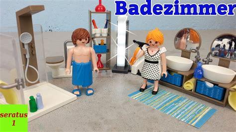 Playmobil Badezimmer 9268 Auspacken Modernes Wohnhaus