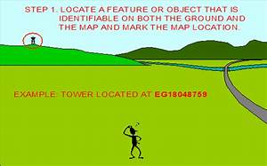 Locate An Unkown Point On A Map By Resection