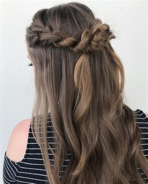 simple hairstyles  long hair   lazy girl