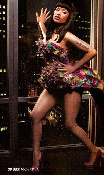 nicki minaj  black mens magazine scans hiphop