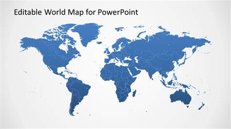 powerpoint map templates editable worldmap for powerpoint slidemodel