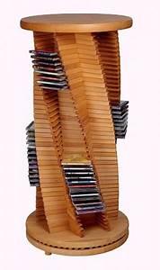 Cd Rack Holz : edle cd s ule cd rack aus holz kirsche spiralform cropack onlineshop ~ Markanthonyermac.com Haus und Dekorationen